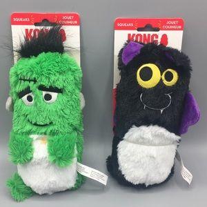 Kong huggz Large Frankenstein & Bat Dog Toy